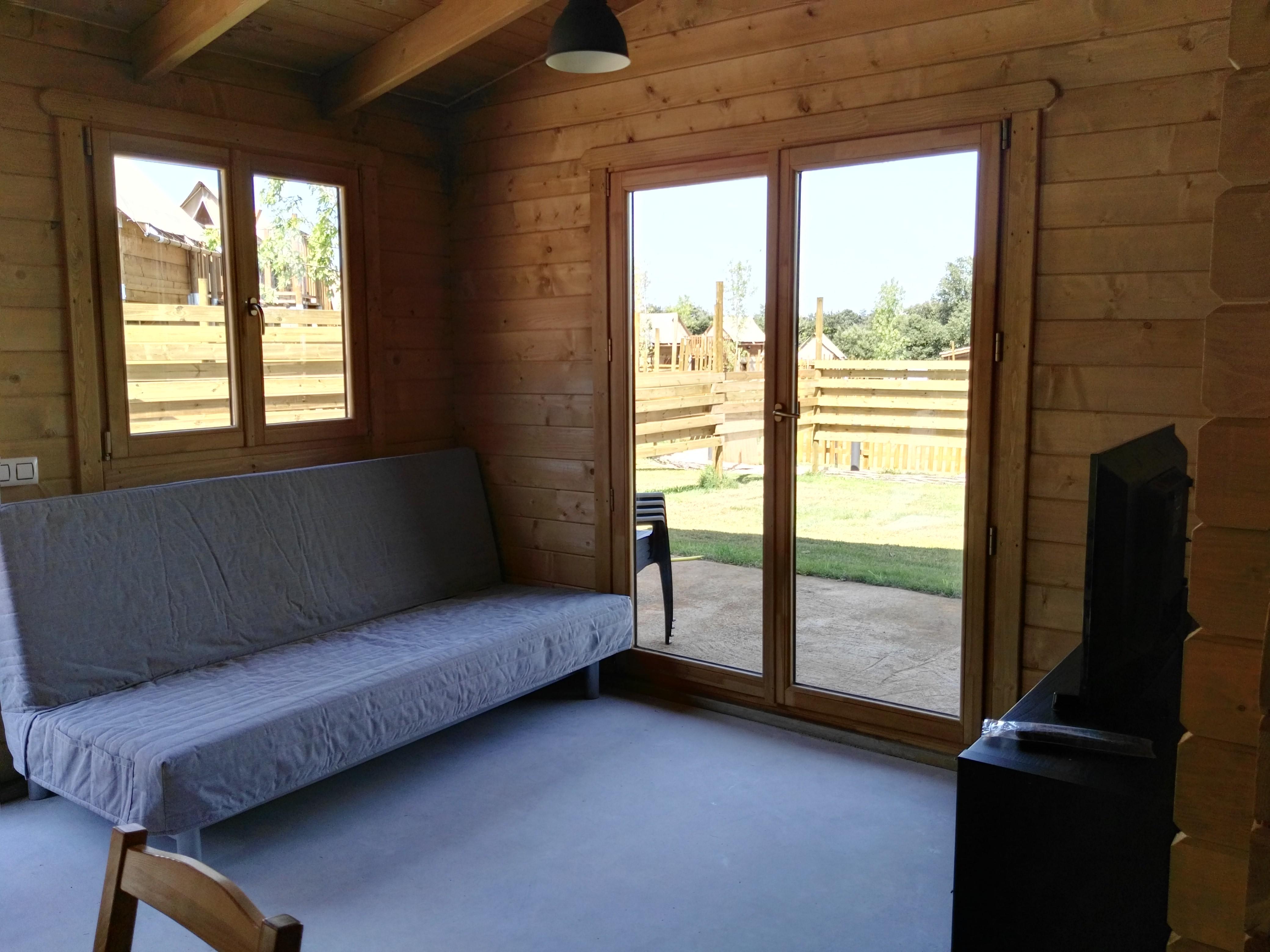 Bungalow de madera chalet montori camping rural montori - Bungalow de madera ...