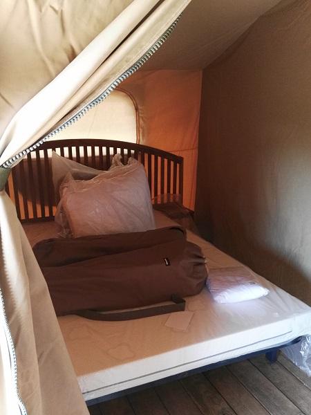 Habitació doble Tenda Lodge Montgrí