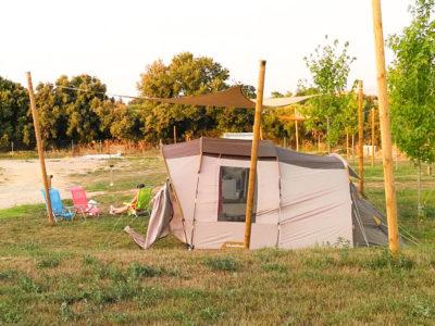 parcela camping rural